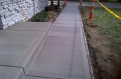 Concrete Ramp and sidewalk